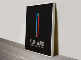 A New Hope Wall Star Wars Art Poster