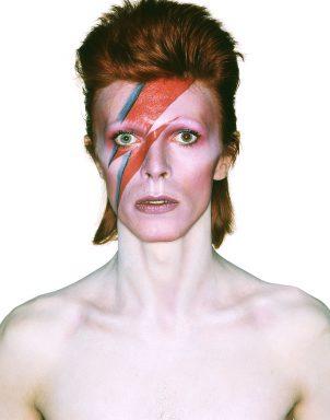 Ziggy Stardust Print on Canvas