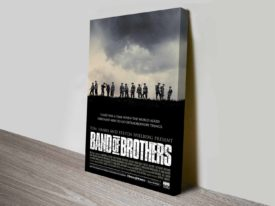 Band of Brothers vintage movie poster