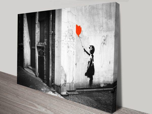 Banksy Balloon Girl Canvas Print