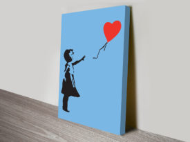 Banksy Balloon Girl Canvas Prints