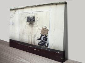 Banksy Canvasv Art Torquay Robot
