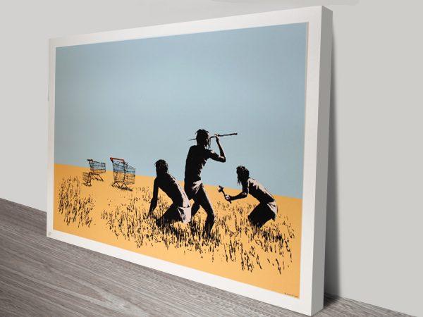 Banksy Trolley Hunters Print