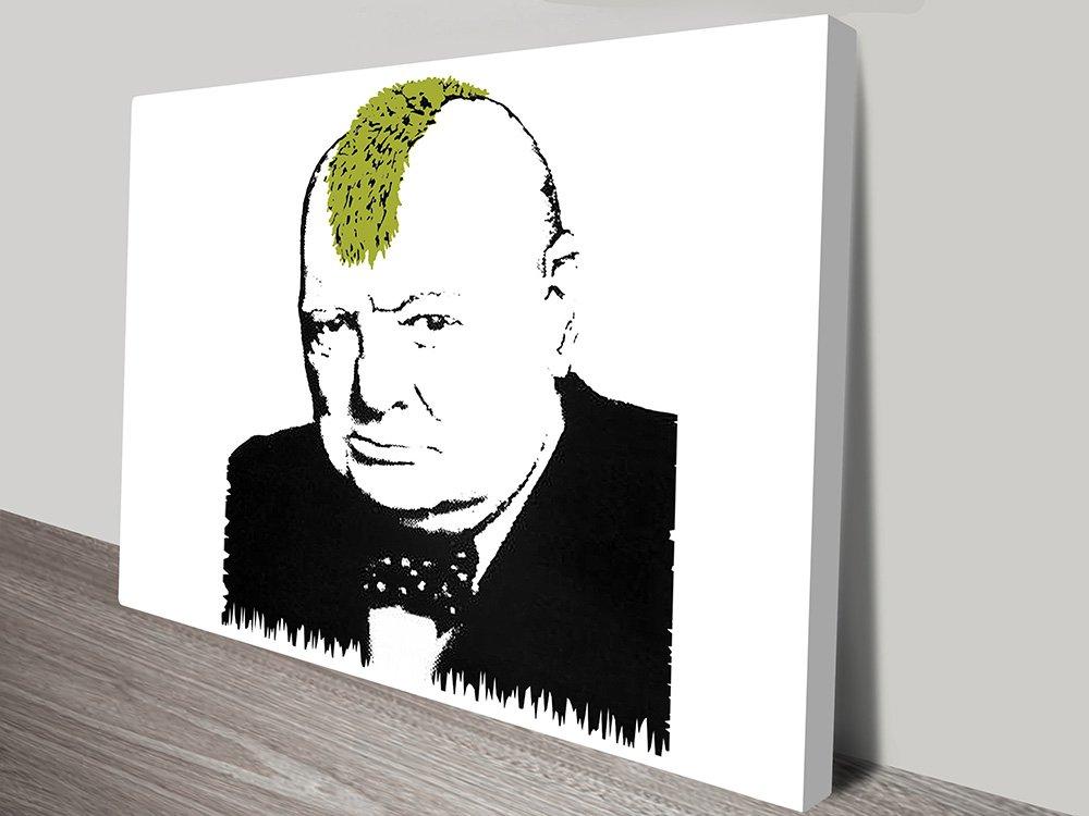 Banksy Churchill Turf War