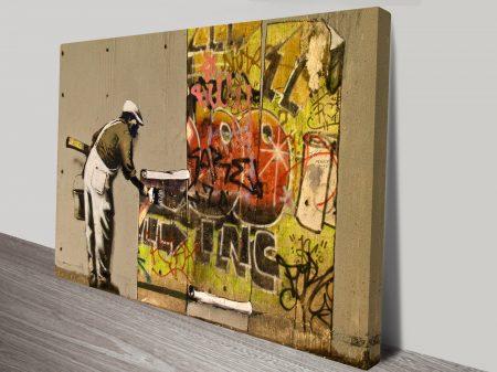 Banksy Copy & Paste Graffiti Wall Art