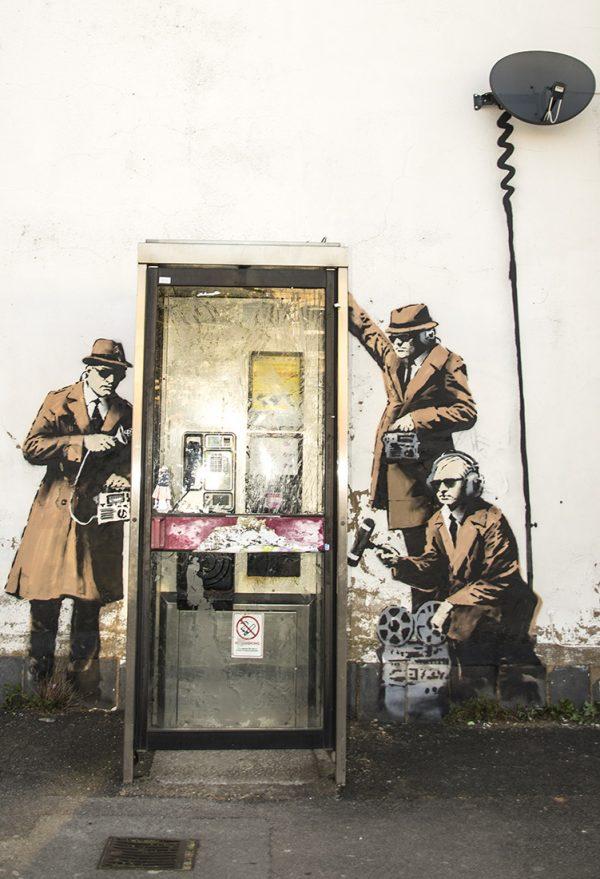 Banksy Canvas artwork Australia