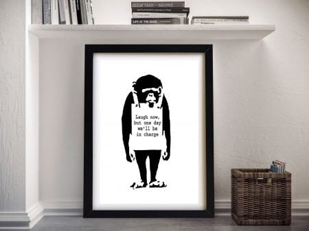 Apes will Rise Banksy Prints for Sale Wall Art Online Australia