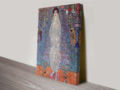 Baroness Elisabeth Bachofen, Klimt Classical Art Print
