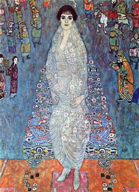 Baroness Elizabeth by Klimt Canvas Art