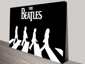 Beatles Black White Canvas Prints