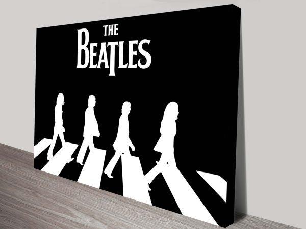 Beatles Black White Canvas Prints