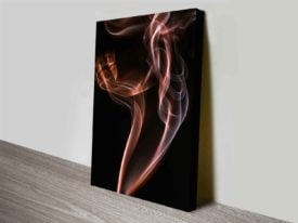 Beauty Of Aerodynamics, Smoke Canvas Art Print Photo