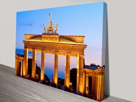 Brandenburg Gate Berlin Canvas Print