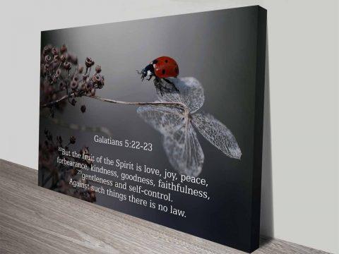 Bible Quote Galatians5.22-23