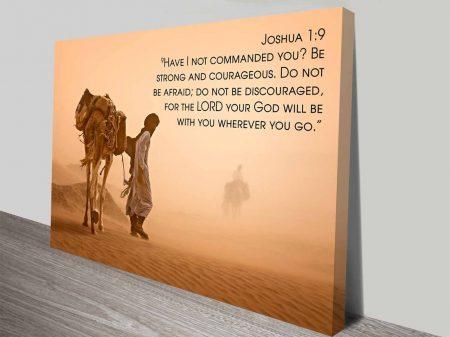 Bible Quotes Joshua1.9