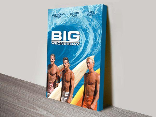 Big Wednesday movie poster canvas