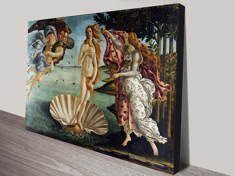 VENUS ART PRINT Botticelli RARE RELIGIOUS POSTER