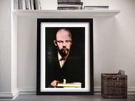 Andy Warhol Black Lenin Wall Art