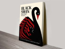 Black Swan Movie Poster 2 Canvas Print