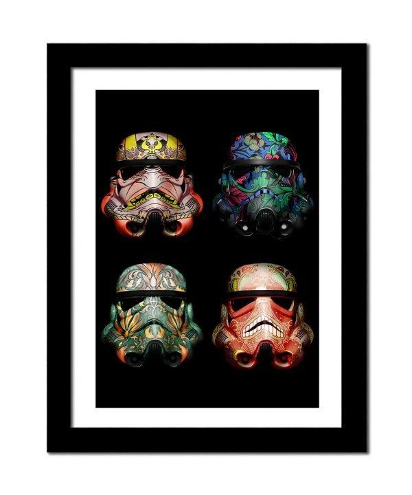 storm trooperframed-wall-art