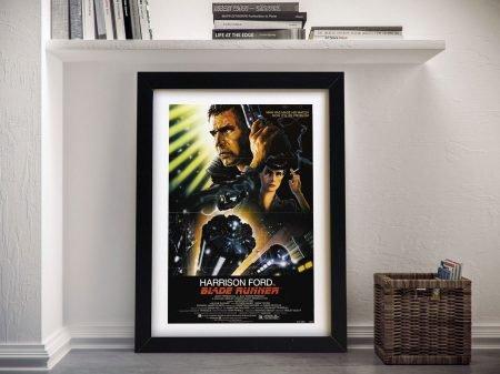 Blade Runner Movie Poster Framed Wall Art
