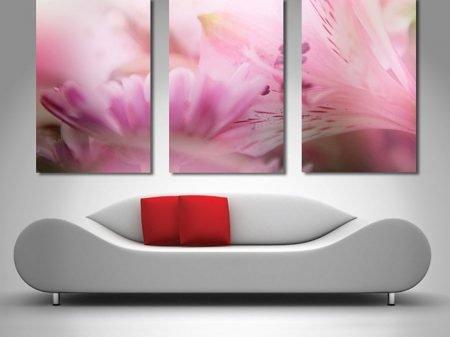 Blossums floral triptych print