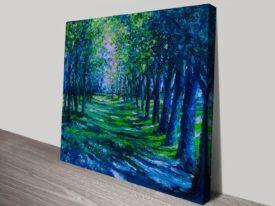 Blue Evergreens