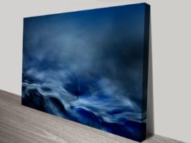 Blue Fantasy Online Canvas Prints Abstract Art Sale