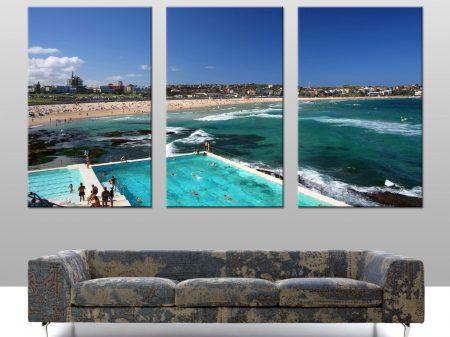 Buy Bondi Icebergs Triptych Wall Art