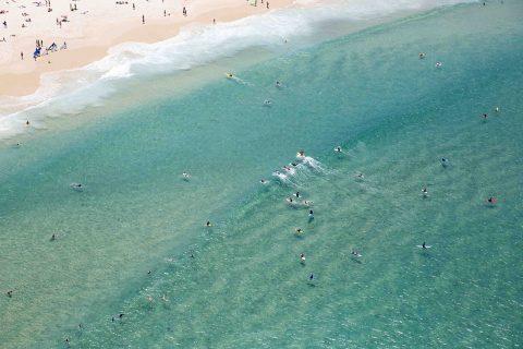 Bondi Beach Aerial Pictures Art Sydney Australia