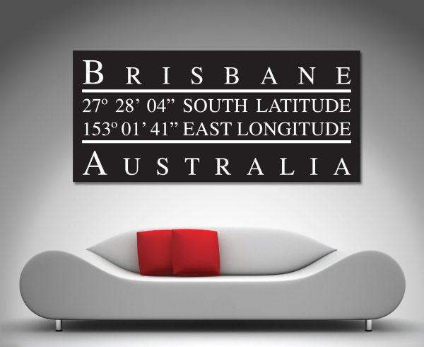 Brisbane Longitude Art