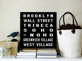 Brooklyn Square New York Canvas Prints