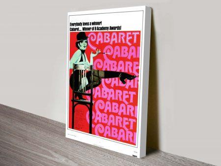 Cabaret Movie Poster Canvas Print