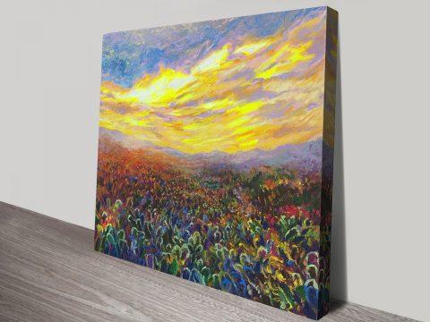 Cacti Sunrise By Iris Scott Wall Prints Online