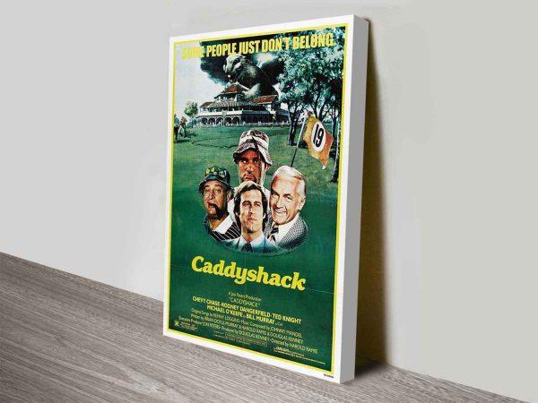 Caddyshack Poster Print On Canvas