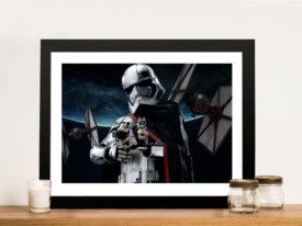 Captain Phasma Star Wars Framed Wall Art