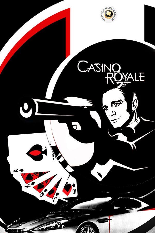 007 Pop Art Daniel Craig