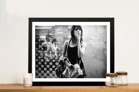 Chain Smoker Modern Glamour Shots Art Prints
