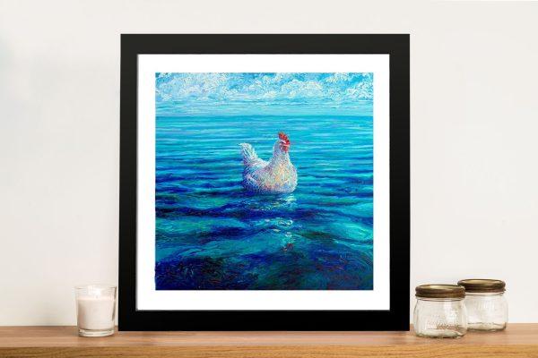 Chicken of the Sea Framed Wall Art Sydney