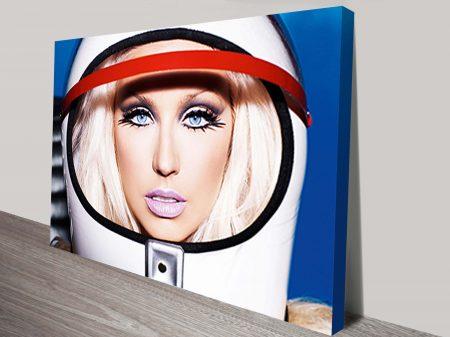 Christina Aguilera Pop Art