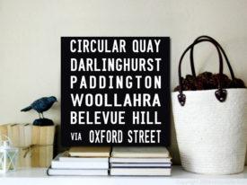 Circular Quay sydney tram scroll