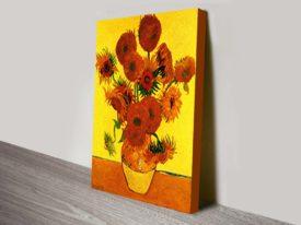 Still Life with Fifteen Sunflowers Classical Art Print