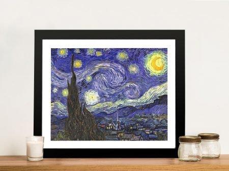 Classical Van Gogh Night Framed Wall Art