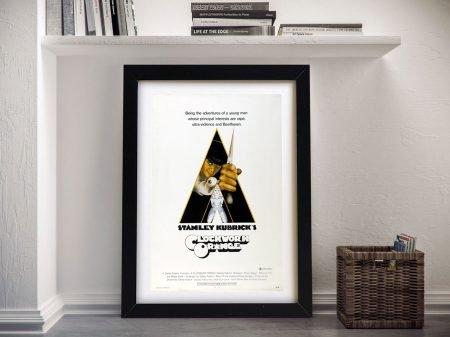 Clockwork Orange Movie Poster Framed Wall Art