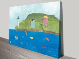 Coastal Harbor I Canvas Art