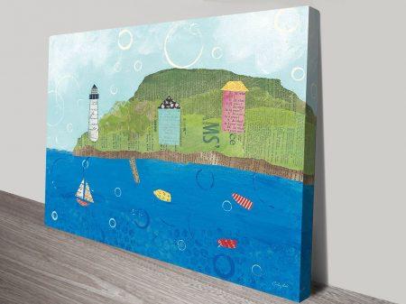 Coastal Harbor I Canvas Art
