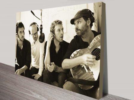 Coldplay pop art print