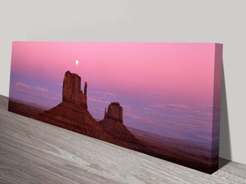 Colorado Panoramic Print on Canvas