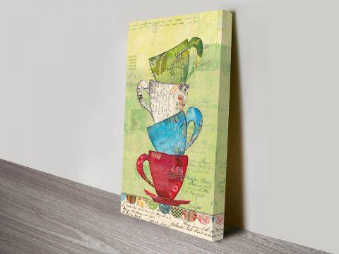 Come for Tea Canvas Art