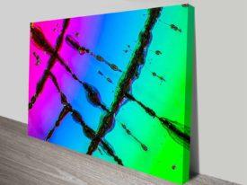 compact disc future cheap canvas art print